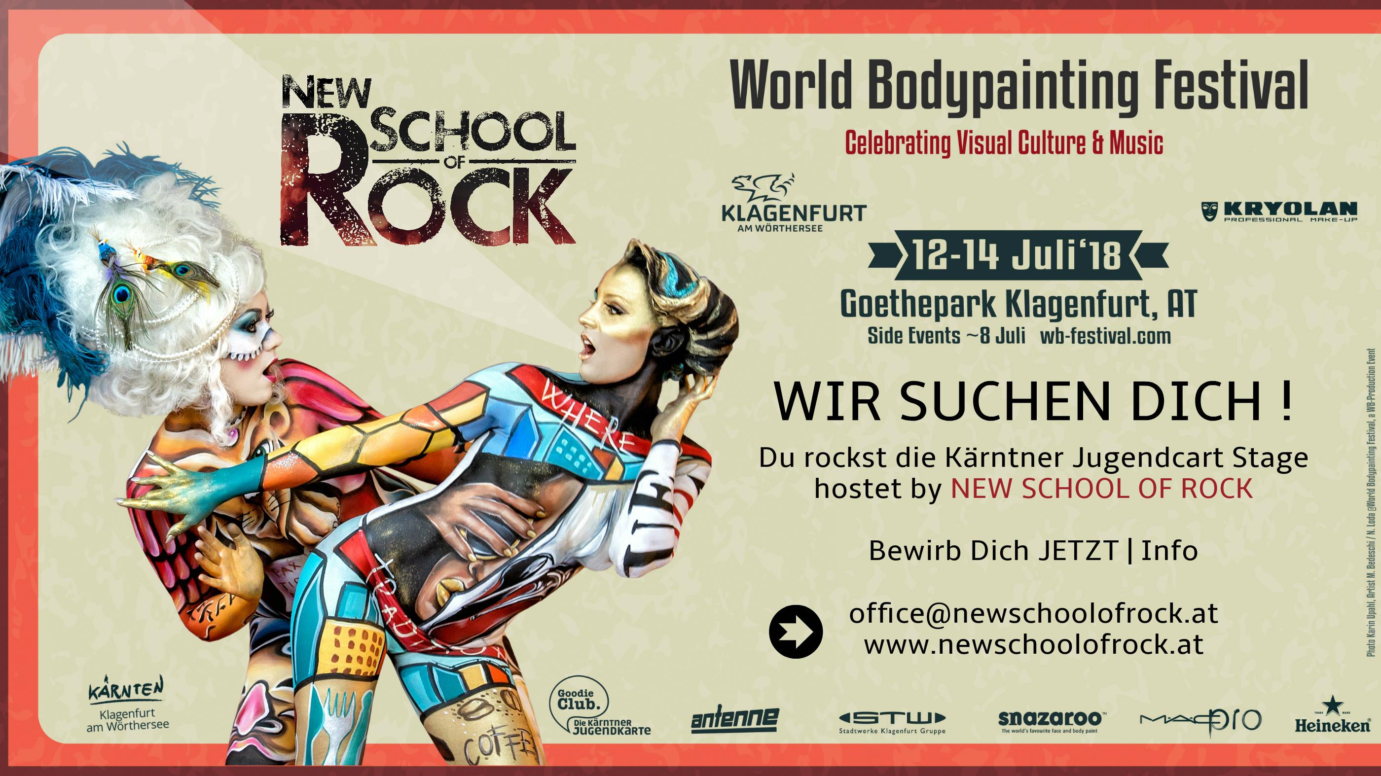 Bewerbung für 12 SLOT'S WBF Festival